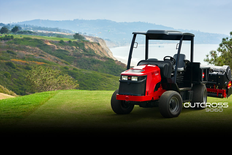 Новая машина TORO для обслуживания газонов